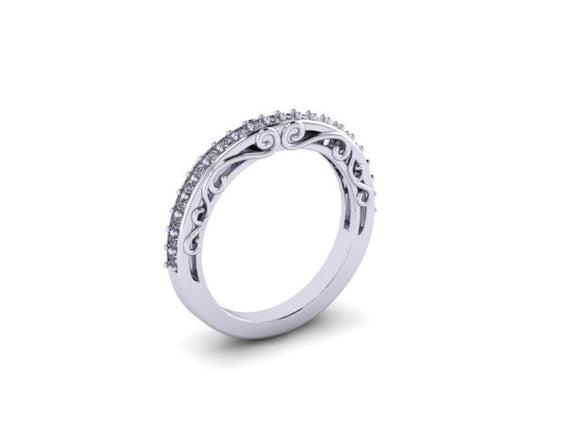 Contour Wedding band- UDINC0401WB