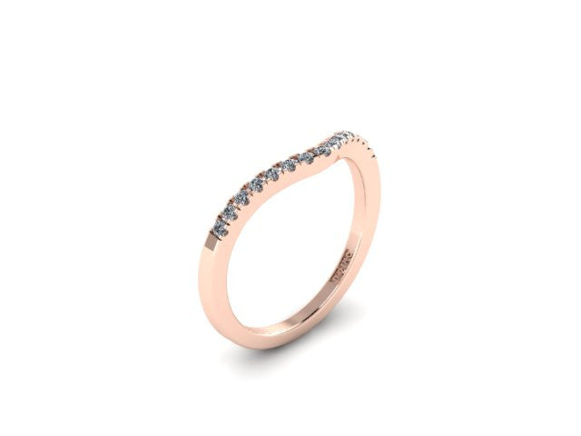 Contour Wedding Band-UDINC0533WB