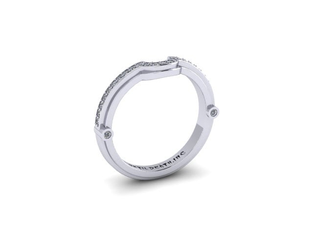 Contour Wedding Band-UDINC0321WB