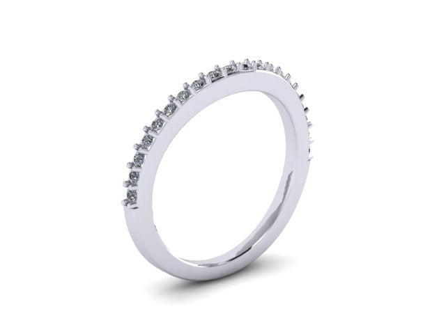 Contour Wedding Band-UDINC0337WB