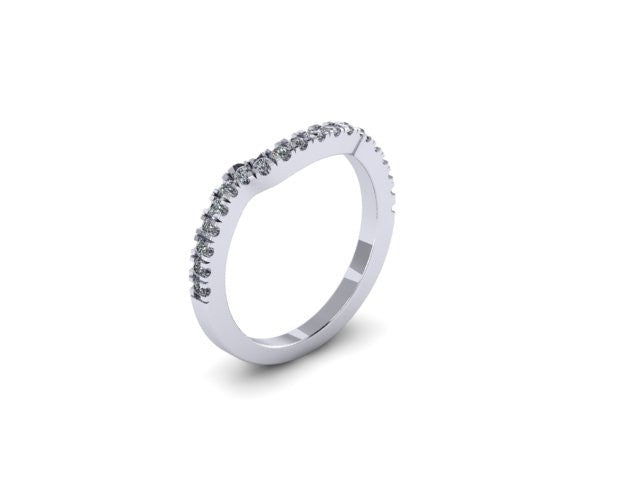 Contour Wedding Band-UDINC0334WB