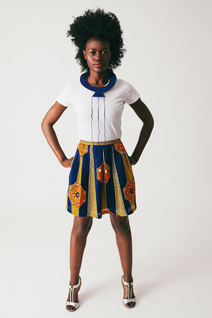 Aisha Pleated Skirt