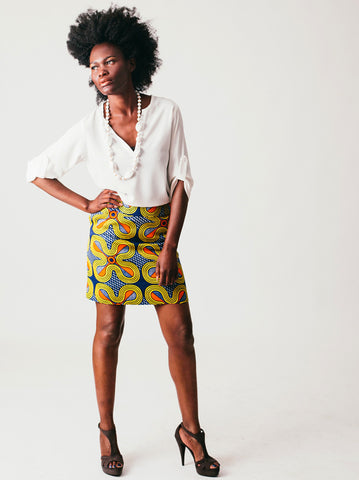 Lindiwe Mini Pencil Skirt
