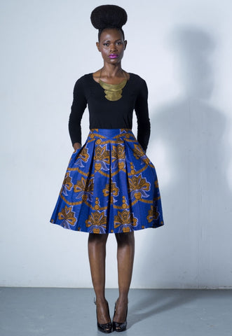 Gugu Pleated Skirt