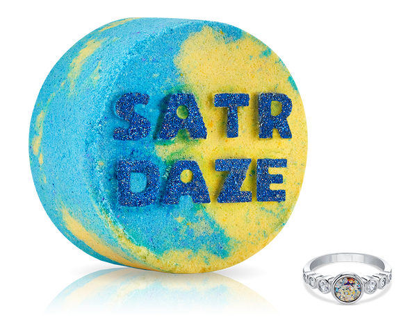 Saturdaze - No Bad Days - Bath Bomb