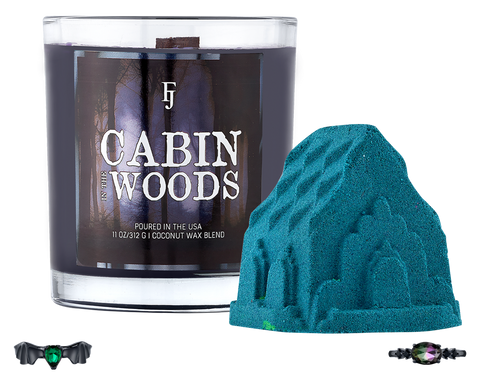 Cabin in the Woods - Candle & Bath Bomb Set - Inner Circle