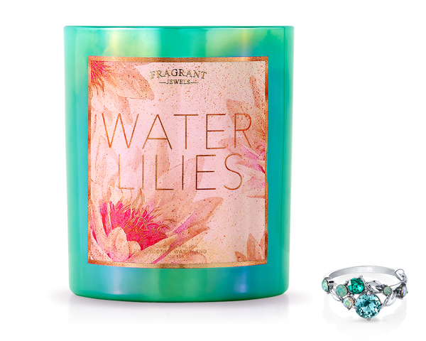 Water Lilies - Jewel Candle