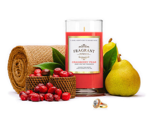 Cranberry Pear - Jewel Candle