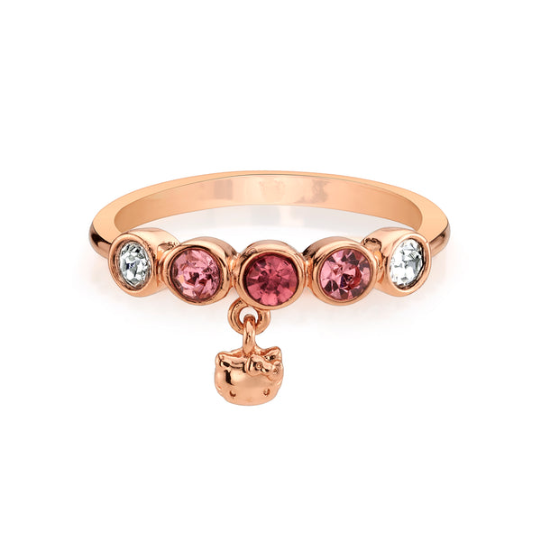 Rose Gold Hello Kitty Charming Ring