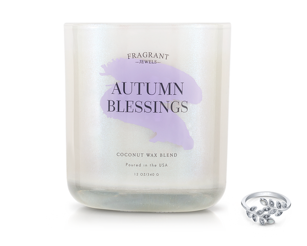 Autumn Blessings - Jewel Candle