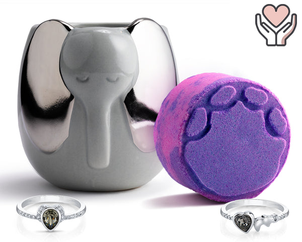Elephant of Surprise - Candle and Bath Bomb Set