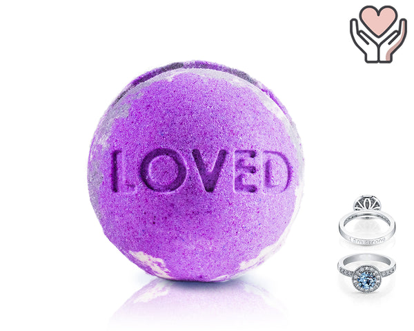 Loved - Life Intentions - Bath Bomb