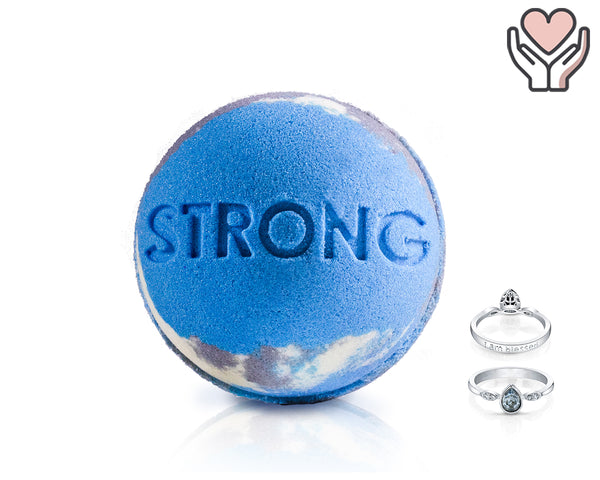 Strong - Life Intentions - Bath Bomb