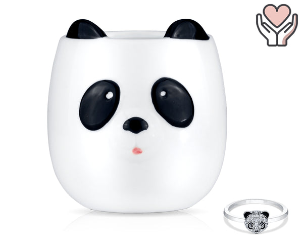 Panda-Monium - Jewel Candle