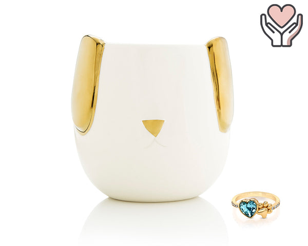 Pawsome - For the Love of Pets Collection - Jewel Candle