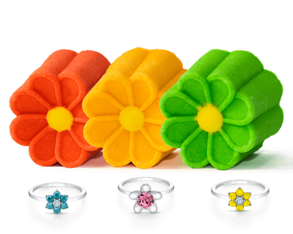 Daisy Collection - Bubble Bar Trio