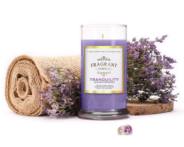 Tranquility - Lavender Jewel Candle