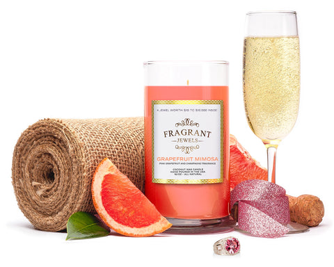 Grapefruit Mimosa - Jewel Candle