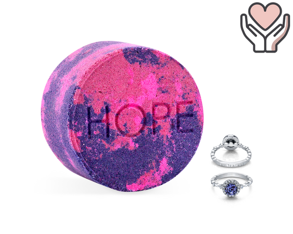 Hope - Life Intentions: Against All Odds - Bath Bomb