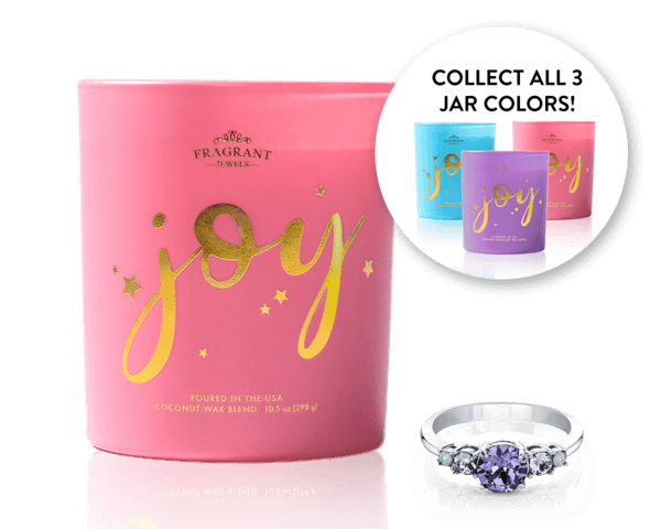 Choose Joy Ring Candle