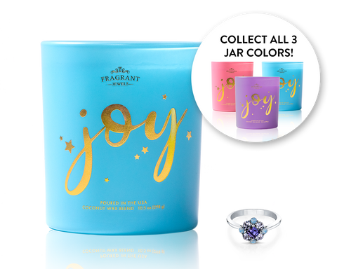 Choose Joy - Jewel Candle