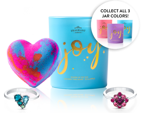 Choose Joy - Candle and Bath Bomb Set