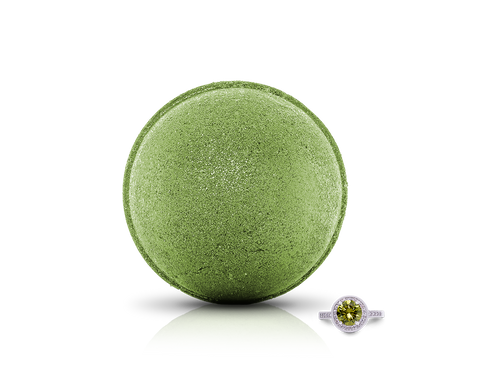 August Birthstone: Peridot Bath Bomb