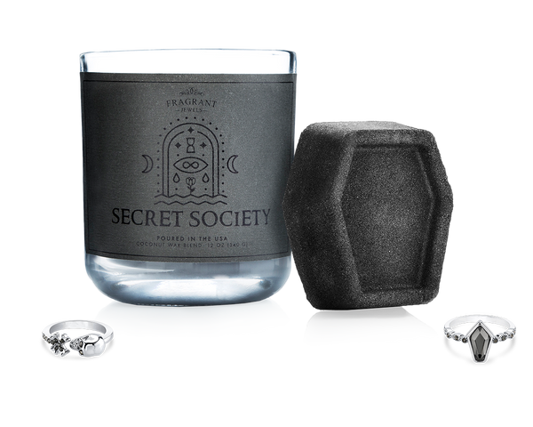 Secret Society - Candle and Bath Bomb Set - Inner Circle