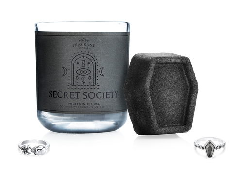 Secret Society - Candle and Bath Bomb Set