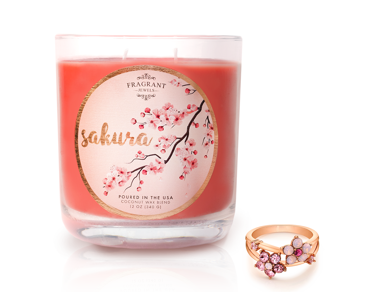 Sakura - Jewel Candle