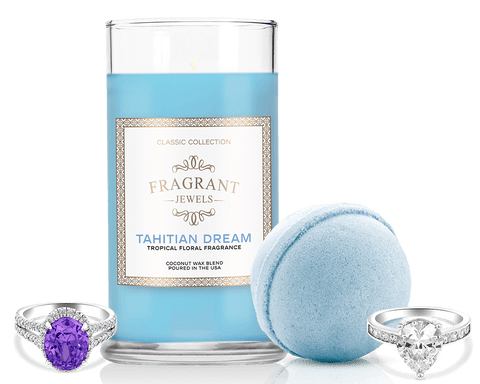 Tahitian Dream - Candle and Bath Bomb Set - Inner Circle