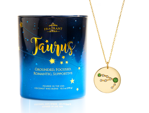 Taurus - Zodiac Collection - Jewel Candle