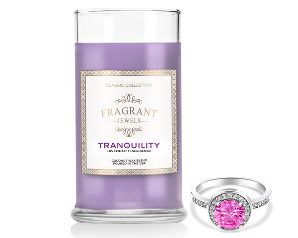 Lavender Ring Candle