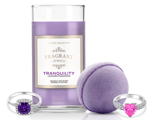 Tranquility - Candle and Bath Bomb Set - Inner Circle