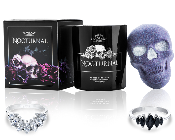 The Nocturnal Collection - Candle and Bath Bomb Set