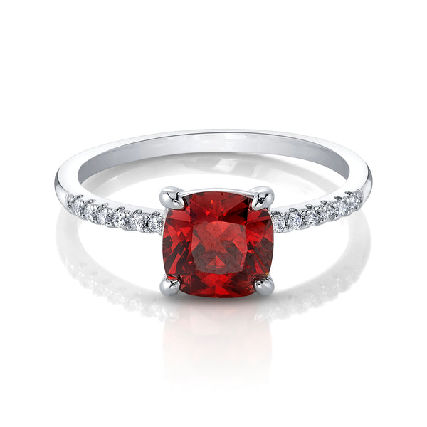 Garnet - January Birthstone Collection - Jewel Candle