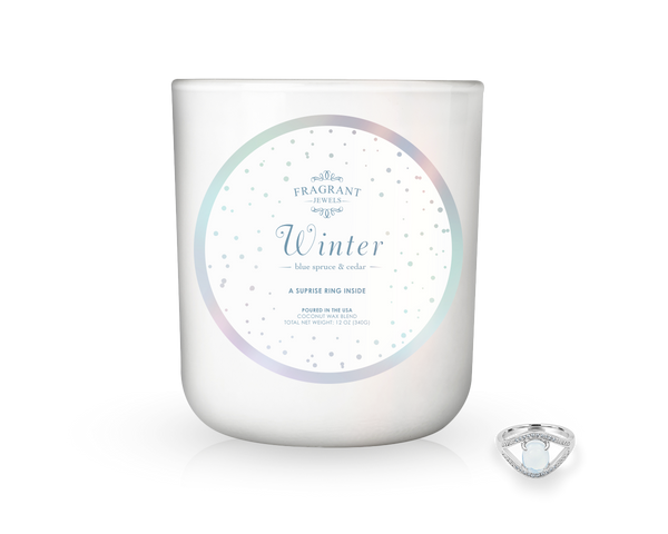 Winter - Jewel Candle