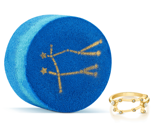 Gemini Astral Ring Bath Bomb