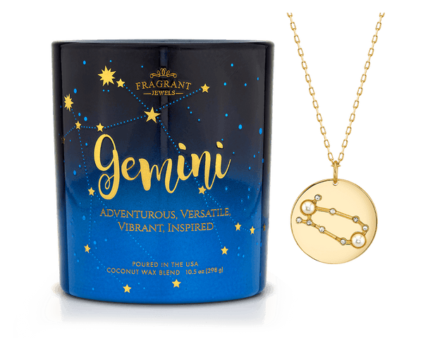 Gemini - Zodiac Collection - Jewel Candle