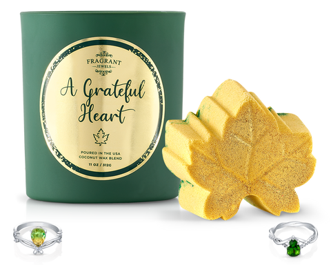 A Grateful Heart - Candle and Bath Bomb Set - Inner Circle