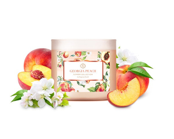 Georgia Peach Jewel Candle