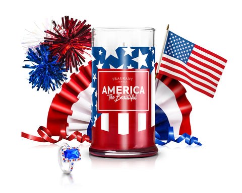 America - Jewel Candle