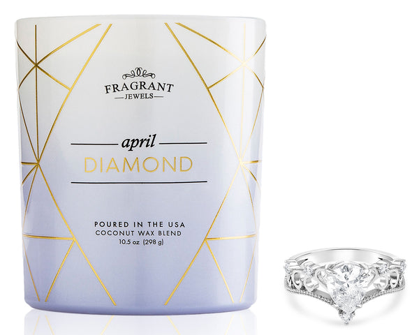 Diamond Ring Candle