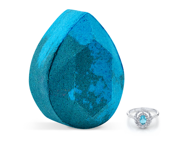 Aquamarine - March Birthstone Collection - Bath Bomb