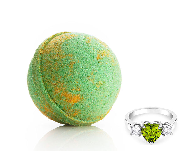 Peridot: August Birthstone - Bath Bomb