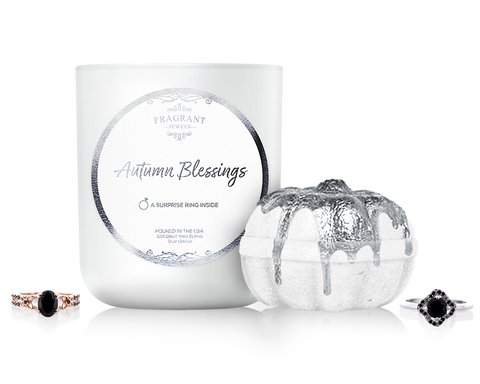 Autumn Blessings - Candle and Bath Bomb Gift Set