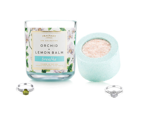 Breathe - Candle and Bath Bomb Set