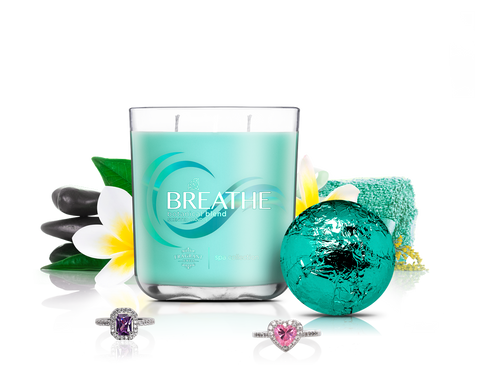 Breathe - Candle & Bath Bomb Gift Set