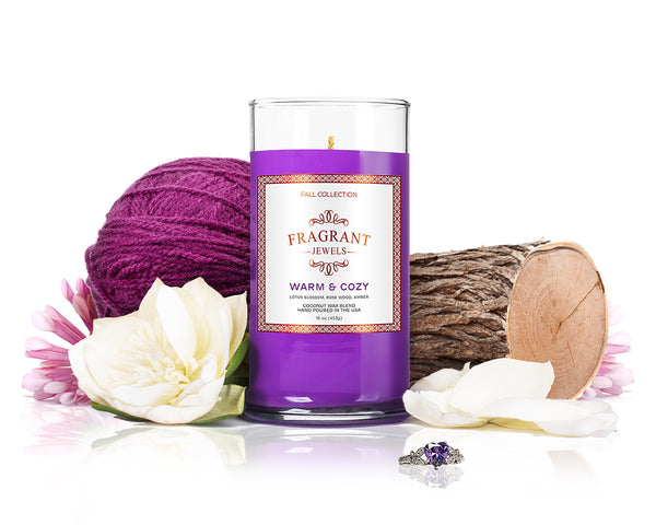 Warm & Cozy - Jewel Candle