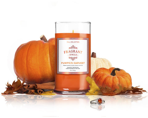 Pumpkin Harvest - Jewel Candle